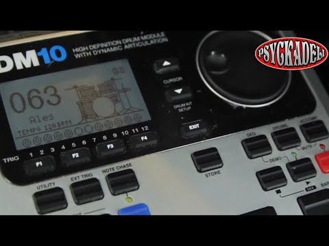 Alesis DM10 Studio Kit review in 2 min - ending with EzDrummer sounds