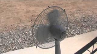 wind machine fan wattage