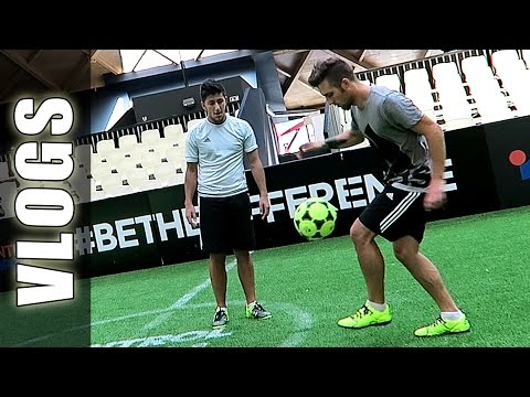 Fútbol con Ivan Rakitic Barcelona (Día 1) - The Base con GuidoFTO (Football Tricks Online)