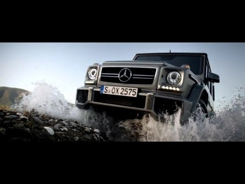 Off Roading in the G-Class -- Mercedes-Benz Luxury SUV