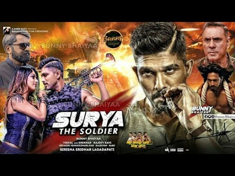 Allu Arjun Surya Latest South Hindi Dubbed Movie 2018 Trailer Live HD