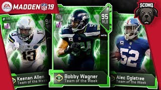 Limited Team of The Week Bobby Wagner Plus Boss Keenan Allen - Madden NFL 19