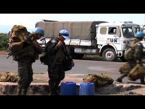 UN take up positions in strife-torn eastern DR Congo