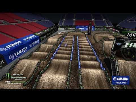 2018 Yamaha Track Map: Salt Lake City