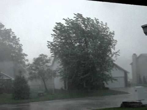 Severe Storm Columbus IN 2011-May-25-5PM