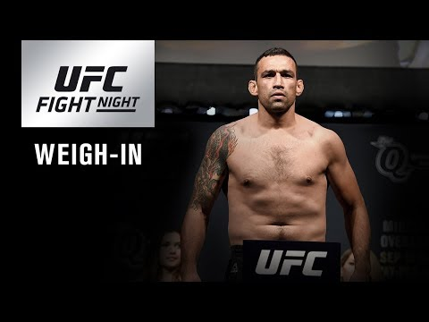 UFC Fight Night London: Weigh-in