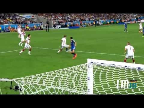 Lionel Messi vs Germany FIFA World Cup 2014 HD 720p