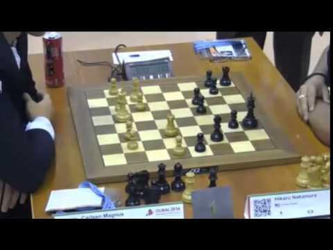 Carlsen vs Nakamura - 2014 World Blitz Championship