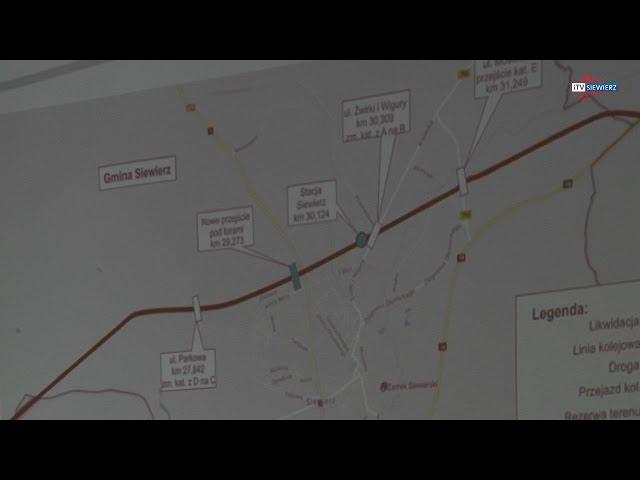 SIEWIERZ - Co dalej z linią kolejową?