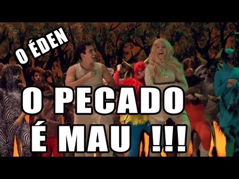 O PECADO  MAU! O den - Cia de Teatro Bola de Neve