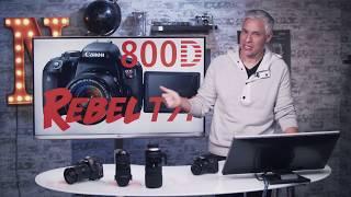 Canon T7i & 800D Training Tutorial