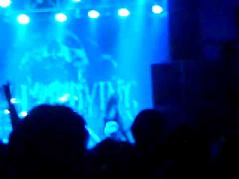 As I lay dying Nick Hipa guitar solo live manchester 28 november 2010!!