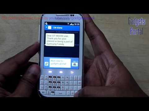 Samsung GALAXY CHAT REVIEW (in depth) HD by Gadgets Portal - PART 1 Music Videos