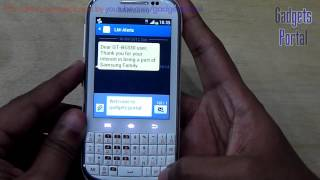 Samsung GALAXY CHAT REVIEW (in depth) HD by Gadgets Portal - PART 1