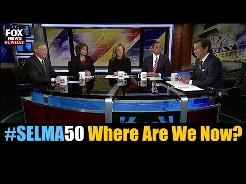 Selma at 50 and Race in America Debated on Fox News Sunday Panel - Chris Wallace