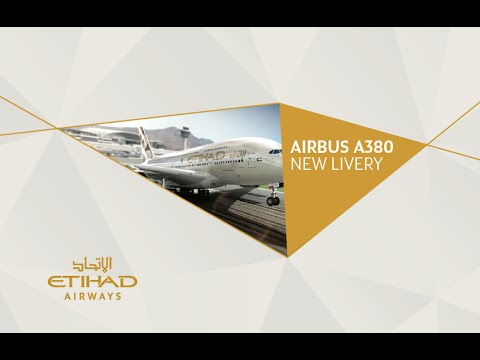 Etihad Airways - A380 Livery - New Livery