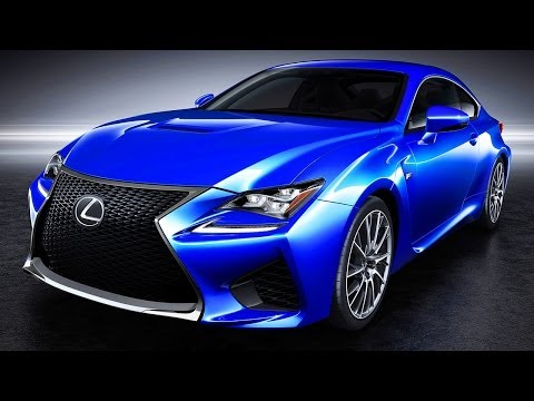 2015 Lexus RC F Debuts at the 2014 Detroit Auto Show!