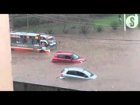 Sections of Nairobi submerged under rain water