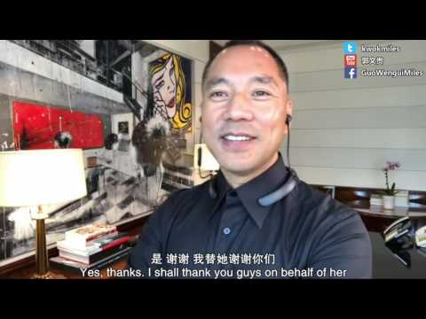 Guo Wengui The live broadcast on May 21 to announce that I am fine