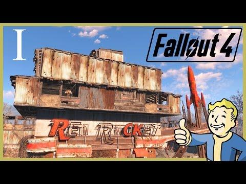 FALLOUT 4 [РВЖУ] [Крепость Своими Руками] - Стоянка Грузовиков Красная Ракета #1