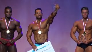 WBFF European Muscle Model Championship at the o2 Arena with Meter Mevsimler