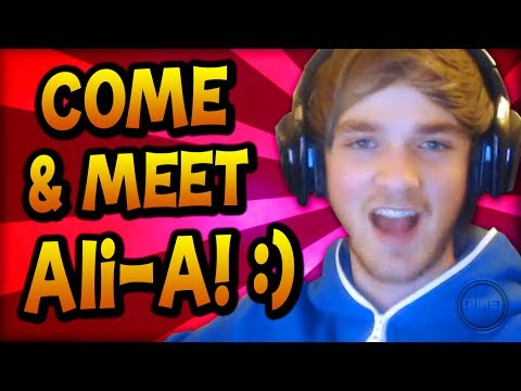 Ali-A - Come and meet me & THANK YOU! =D
