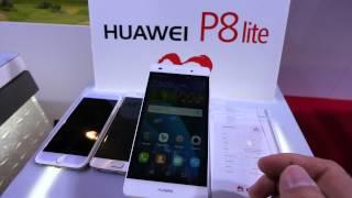 Huawei P8 Lite Hands On [4K UHD]