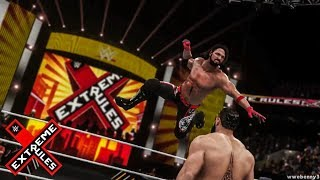 WWE 2K18 Extreme Rules 2018 AJ Styles vs Rusev   Prediction Highlights 2.58 MB