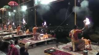 19 India, Varanasi - Evening Ganges Aarti (2013)
