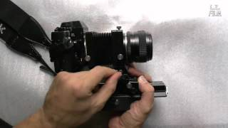 Analog Photography Tutorial: How To Use an Auto Bellows (Part 2)