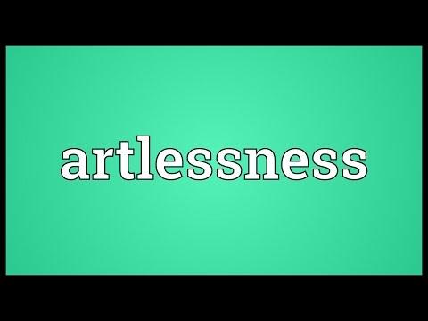 Header of artlessness