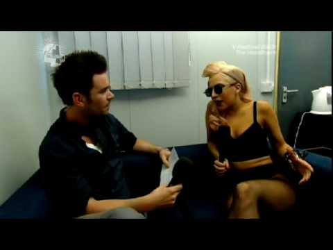 Lady GaGa Interview (V Festival 2009) [23/08/09]