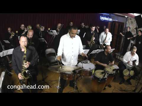21 Piece orchestra, The Mambo Legends performs Funny for congahead.com
