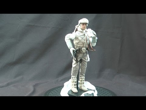 Sideshow Star Wars Luke Skywalker Hoth Sixth Scale Action Figure Review By Movie Figures