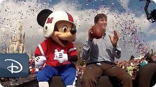 Parade Celebrates Super Bowl MVP Eli Manning | Walt Disney World