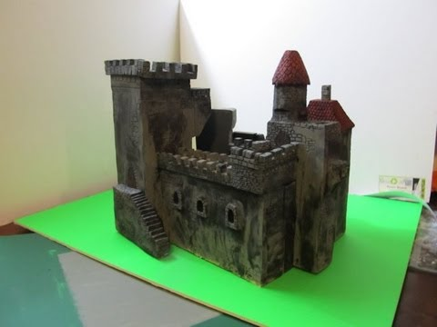 How To Build A Model House For A School Project
