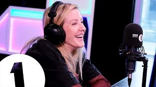 """With a Royal!?"" Ellie Goulding describes gatecrashing a karaoke  party + more with Greg James"