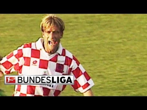 Klopp's Most Dramatic Game as a Player - Wolfsburg vs Mainz, 1997
