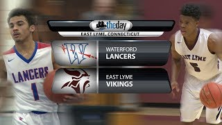 Waterford at East Lyme boys' basketball
