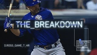 David Ross, World Series Game 7 Home Run | The Breakdown