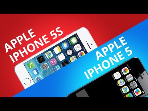 Comparativo: iPhone 5S vs iPhone 5