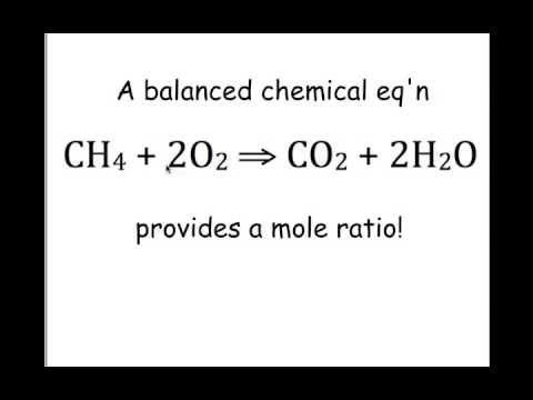 reagent and mole ratio Learn what a mole ratio is and how to determine and write the mole ratio relating   calculating reaction yield and percentage yield from a limiting reactant.