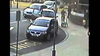 Leeds Mother and Daughter Almost Knocked Down by Stolen Car