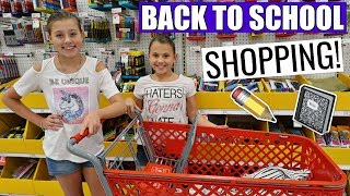 BACK TO SCHOOL SHOPPING TRIP WITH MY MOM! TEEN SCHOOL SUPPLIES 2018!