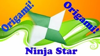 How To Make A Paper(origami) - Ninja Star(shuriken)