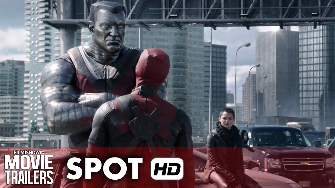 DEADPOOL TV Spot 'Now with Round House Kick!' - Ryan Reynolds [HD]