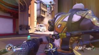 """Using  HANZO First time"" Overwatch Gameplay"