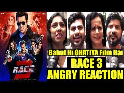 Public ANGRY REACTION On Salman Khan's RACE 3 | REVIEW | Salman khan, Jacqueline, Daisy, Anil, Bobby