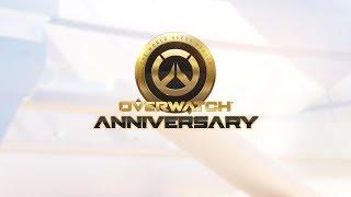 Overwatch Anniversary   All new Skins