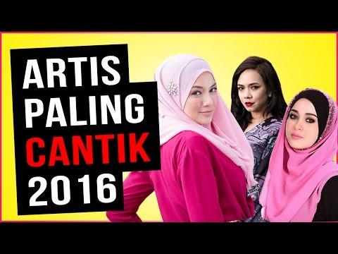 Artis Malaysia Paling Cantik 2016 l Top 10 Mengikut Survey